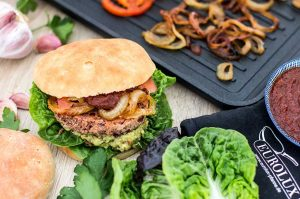 Sweet-Spicy Kidneybohnenburger