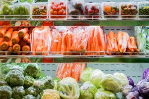 Plastikverpackung Obst Gemüse