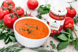 One-Minute-Tomatencremesuppe