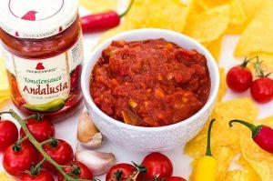 Feuriger Tomaten Dip