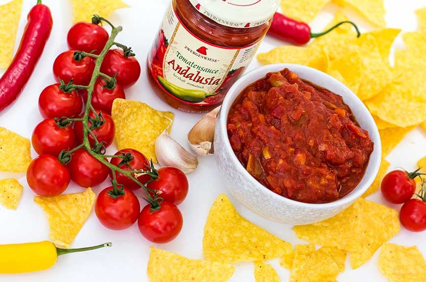 Feuriger Tomaten Dip Rezept