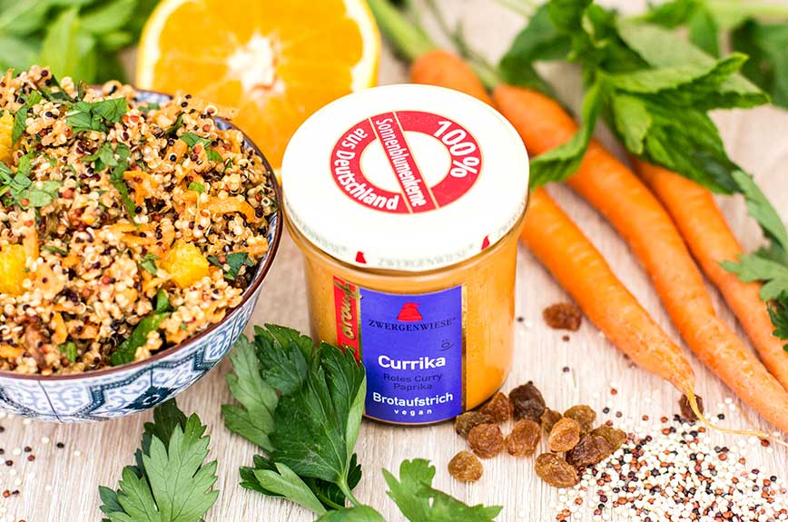 Orientalischer Quinoasalat Rezept