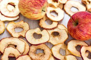 Apfelringe trocknen – 4 Methoden im Vergleich