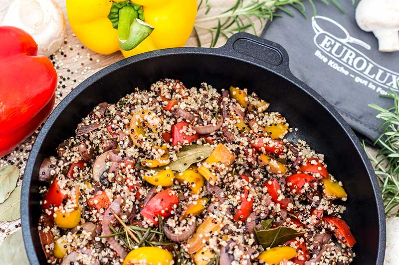 Paprika Quinoa Pfanne Rezept