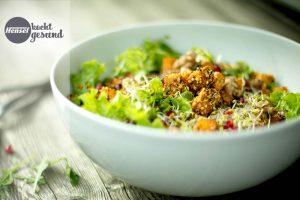 Apfelessige Trend Figur Haut Salat