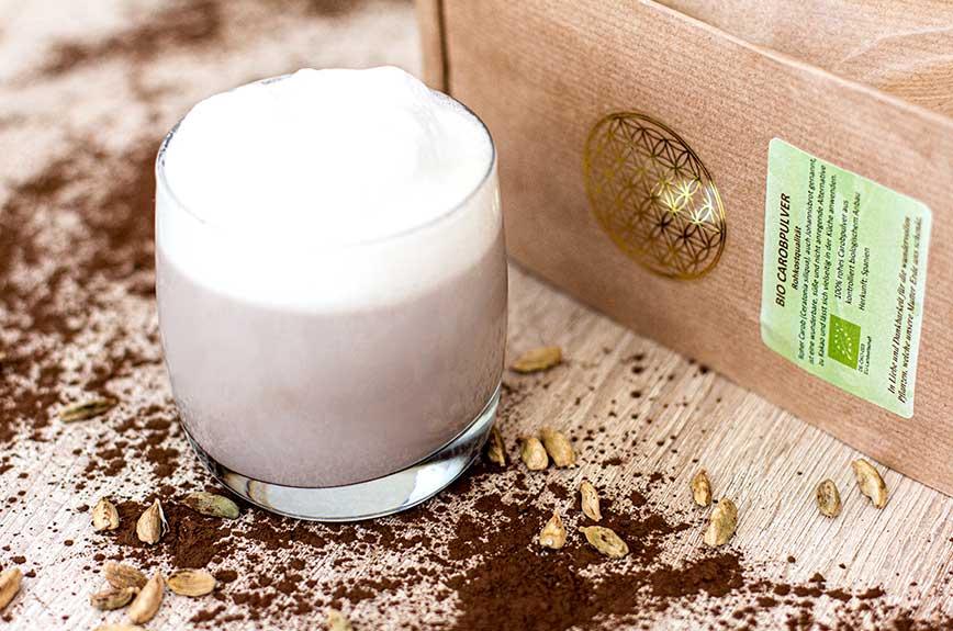 Carob-Cappuccino Rezept