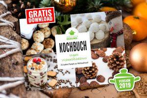 vegane Weihnachtsbäckerei - gratis Backbuch