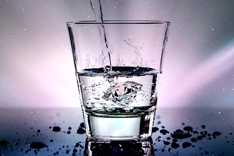 Japanische Wasser Diät