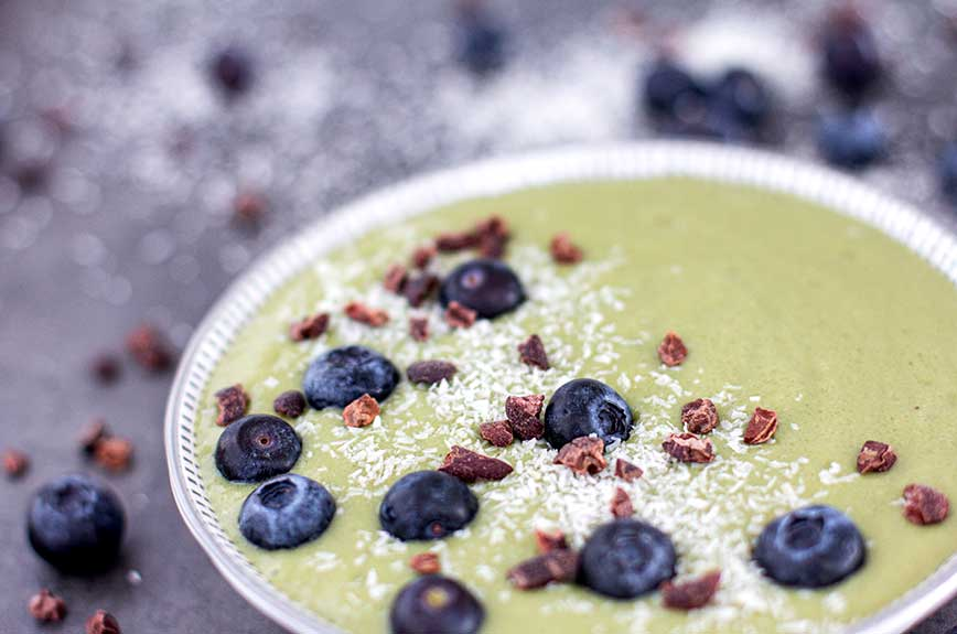 Gerstengras Smoothie Bowl Rezept