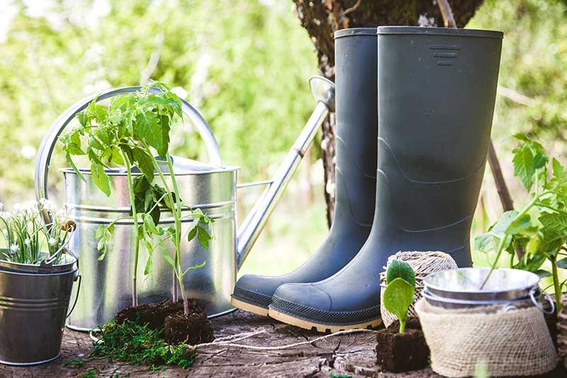 Vor der Gartenarbeit aufwärmen nicht vergessen