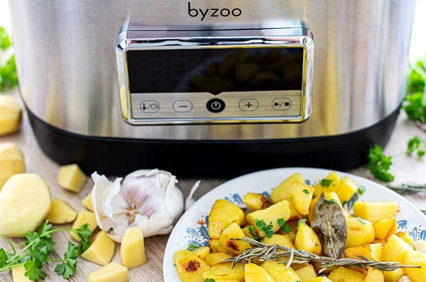 Kartoffeln Sous Vide garen Byzoo