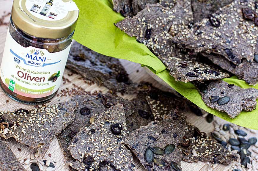 Olivenbrot Rohkost Rezept