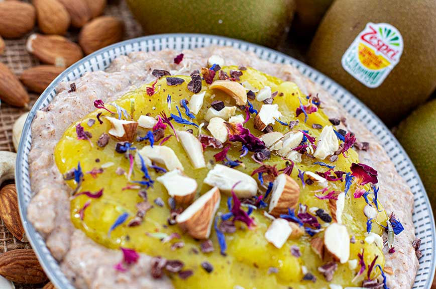 Kiwi Porridge Rezept
