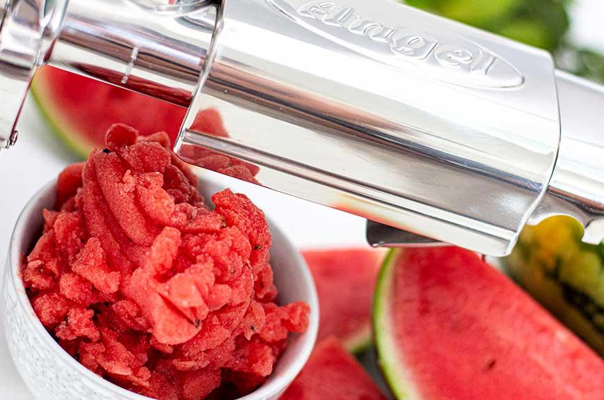 Meloneneis selber machen
