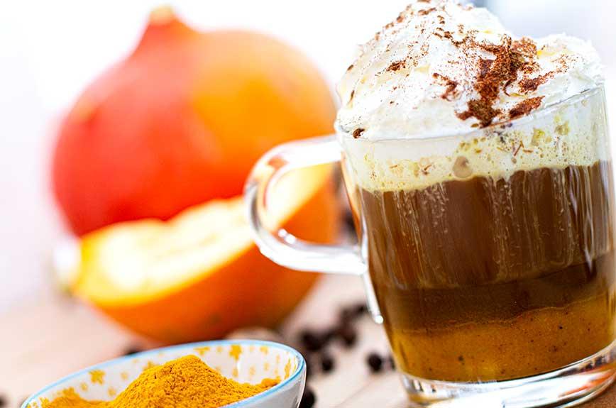 Pumpkin Spice Latte Rezept vegan