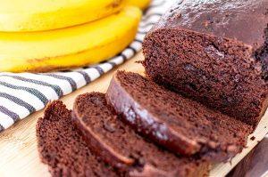 Schoko-Bananenbrot Rezept vegan