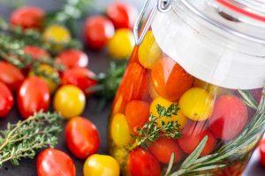 Tomaten fermentieren