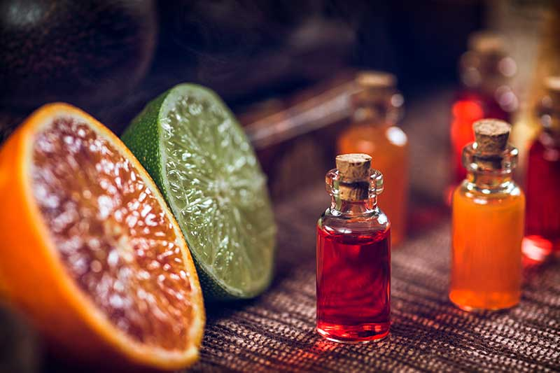 Aromatherapie  Duft Orange Limette