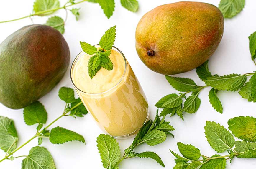 veganen Mango Lassi selber machen