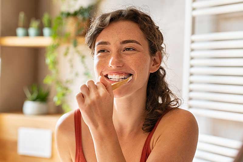 Zähne und Zahnfleisch gesund