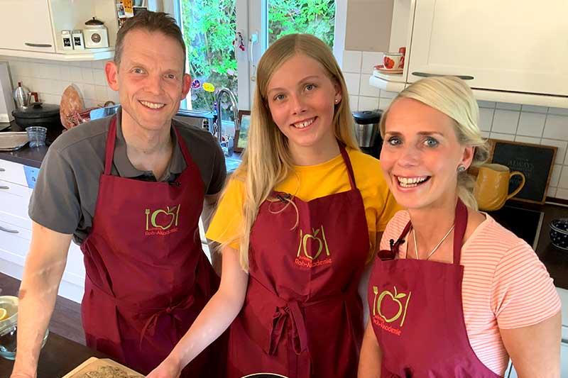 Die gesunde Familien Kochshow in der Gesundheitslounge